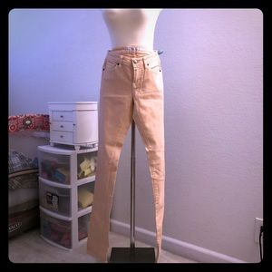 Uniqlo pink skinny fit jeans